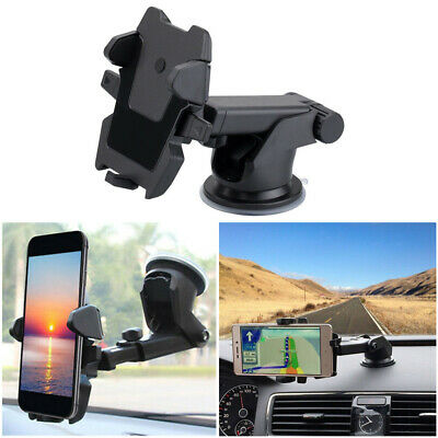 Car Windscreen 360 Rotatable Suction Cup Mount Mobile Phone Holder Bracket Stand