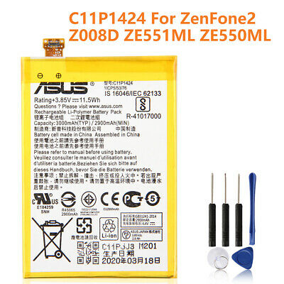 Replacement Battery C11P1424 For Asus ZenFone2 Z008D Z00AD Z00ADB 5.5inch