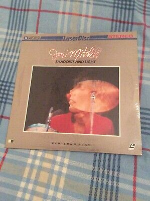 Joni Mitchell Shadows And Light 1980 Made Japan Laserdisc Laser Disc New Sealed