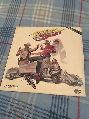 Smokey And The Bandit Burt Reynolds 1977 Movie Film Made UK Laserdisc Laser Disc