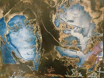 Valentin Samarine Russian art photography  Drouot abstraction RARE env 40/50cm