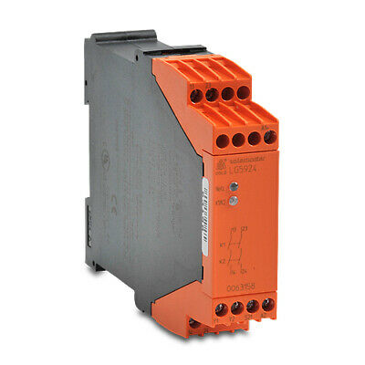 LG5924-02-61-24 Dold safety relay, emergency stop, 1-channel, 24 VDC, (2) N.O.