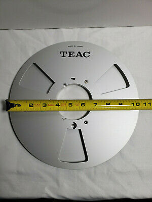 Teac 10.5 In Metal Take Up Reel  Excellent Condition