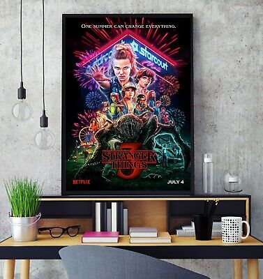 Stranger Things Season 3 Poster Professional Grade Gloss Photo Print HD Limited