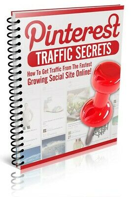 Pinterest Traffic Secrets! eBook With Master Resell Rights MRR | EMAIL DELIVERY