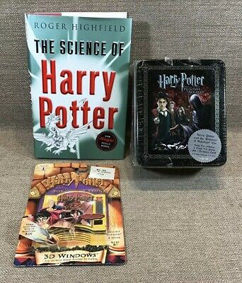 Vintage Set 3 Harry Potter The Sience The Prisoner Of Azkaban tin & 3d Windows