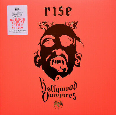 Hollywood Vampires ‎– Rise -  2LP limited Glow in the dark Vinyl + DL  NEU NEW