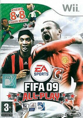 FIFA 09 All-Play Nintendo Wii 3+ Football Soccer Game