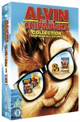 Alvin And The Chipmunks Collection (DVD 3 DISC BOX SET, 2011) *NEW/SEALED*