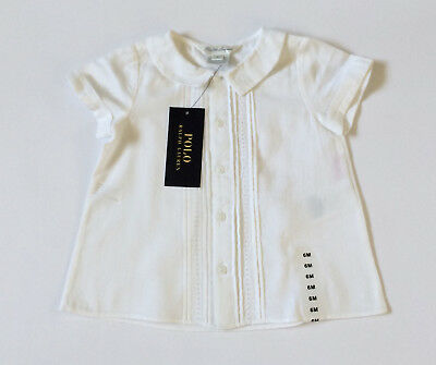 Beautiful Ralph Lauren Baby Blouse Top Age 6 Months BNWT