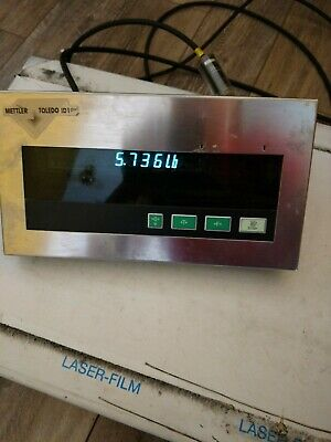 Mettler Toledo Scale + TBrick 15 Load Cell + 1D1 Plus Display + All Cords