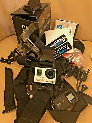 GoPro HERO 3+ Black Action Camera 4K HD Subacquea + Accessori