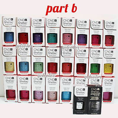 Cnd Shellac UV LED Esmalte de Uñas Gel Base Top Coat 7.3ml 7.4ml Recoger