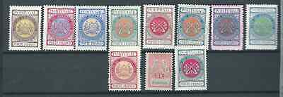 Portugal Nice Lot Back Of The Book Cinderellas Mint Hinged