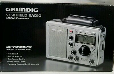 Grundig S350 Field Radio Used In Box Complete! Excellent!