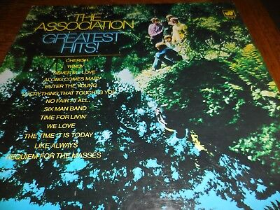 The Association Greatest Hits 1968 on warner Bros. in VG+