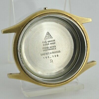 Omega Seamaster Cosmic Ref. 166.128 Steel 38.6 mm Ø round case part for Cal 1012
