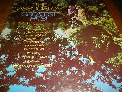 The Association Greatest Hits 1968 on warner Bros. in VG