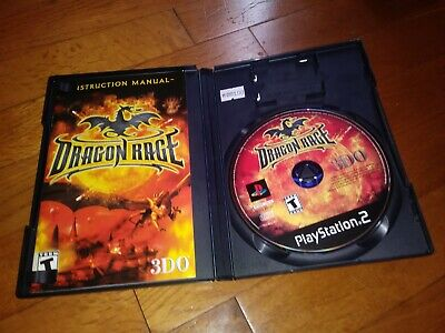 Dragon Rage PS2 PlayStation Sony 2001 Edition Video Game CD Complete