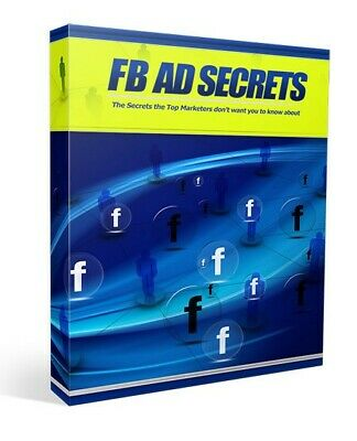 FB AD Secrets With Master Resell Rights MRR | EMAIL DELIVERY