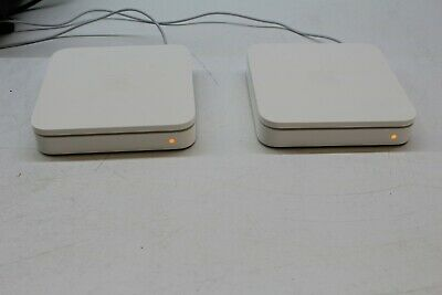 Lot of 2 Apple Airport Extreme Base Station A1354 WiFi Routers M02