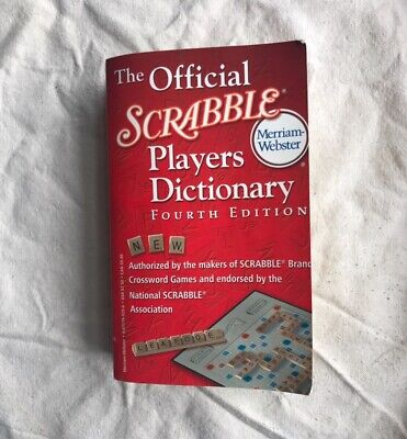 The Official Scrabble Players Dictionary (2005, Fourth Edition, Paperback)