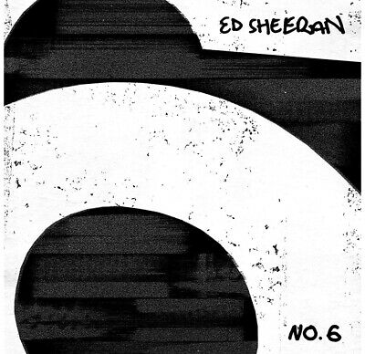Ed Sheeran No.6 Collaborations Project CD Used A1 Condition Free Delivery
