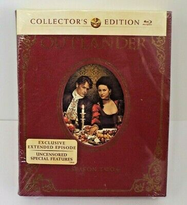 New Brand New Sealed Outlander Season 2 Collector's Edition- Blu-ray/UV