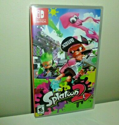 Splatoon 2 - Nintendo Switch 2017 brand new factory sealed game US USA
