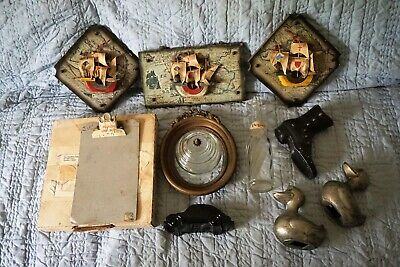 Estate Junk Drawer Lot of Collectibles Keepsakes