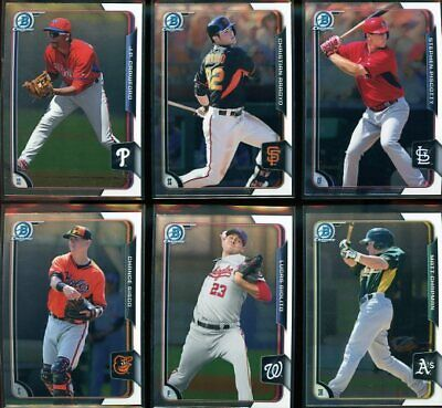 2015 Bowman Chrome Prospects series 2 #BCP-151 - BCP-250 - Pick Your Player