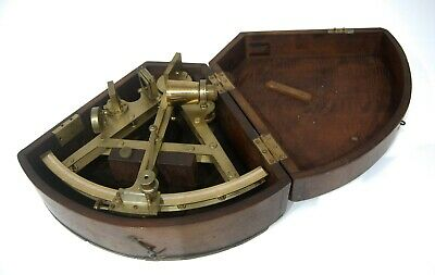 George Iii Cased Double Framed Sextant By Robert Brettell Bate Of Poultry London