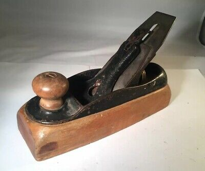 Vintage Stanley Bailey No. 24 Transitional Smoothing Plane Type 9A (1881-92)
