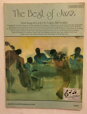 THE BEST OF JAZZ VOLUME 2 Sheet Music Song Book Creative Concepts Publishing