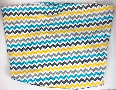 Kanga Care Pail Liner Chevron Multi-Color Clean Good Nice Condition