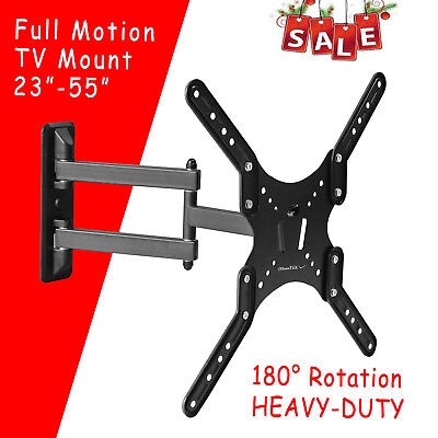 Full Motion TV Wall Mount Articulating 24 32 37 42 47 55Inch LED LCD Flat Screen