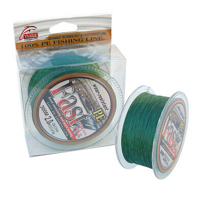 300M PE Braided Fishing Line Super Strong 4 Strands Multifilament Line 16-114LB