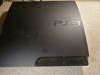 Sony PlayStation 3 Slim 320GB Black (CECH-3001B) PS3 AS-IS for Parts or Repair