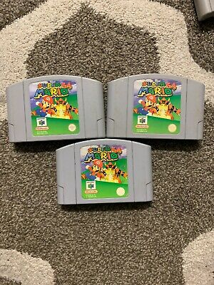 Nintendo 64 Game Super Mario 64 Pal