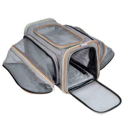 Pet-U Sac de Transport pour Chat et Petit Chien Extensible 2 voies extensible do