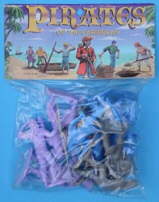 MARX PIRATES OF THE CARIBBEAN - 60mm - Mexican reissues - MIB