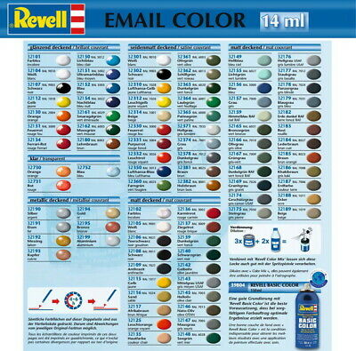Revell Email Color Farben 32... Vario