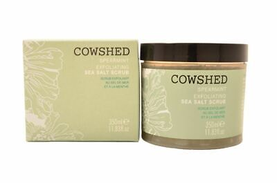 Cowshed Spearmint Exfoliating Sea Salt Scrub 350ml For Her Body Care Damaged Box