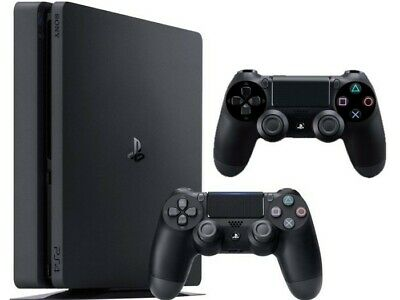 Sony PlayStation 4 Slim 500GB Bundle - Doppio Controller DualShock 4