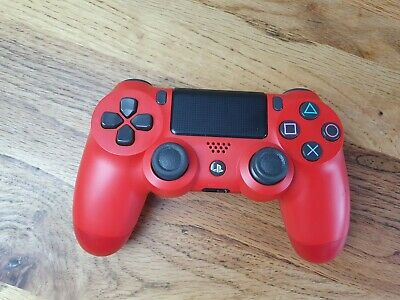 Sony Playstation 4 PS4 CUH-ZCT2E DualShock Wireless V2 Controller Magma Red