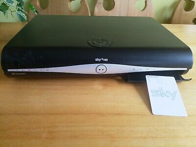 Sky hd box with viewing card