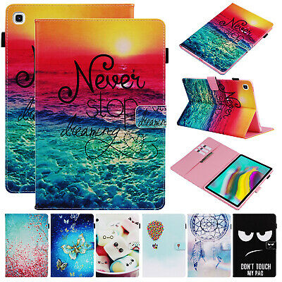 """For Samsung Galaxy Tab S5e 10.5"""" T720 T725 Smart Leather Flip Stand Case Cover"""