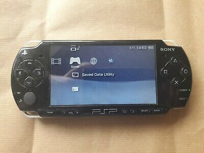 Sony PSP-2003 Joblot Including Games and Case