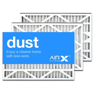 AIRx Dust 16x25x3 Air Filter Replacement for White Rodgers FR1200TM-100 3Pk
