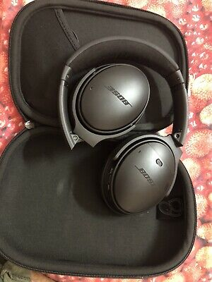 Bose QuietComfort 35 II Over the Head Headsets - Black